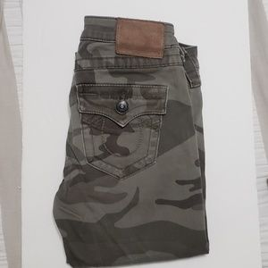 True Religion | Camo Army Skinny Jean